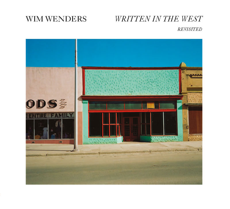 """Couverure du livre """"Witter in the West - Revisited"""" de Wim Wenders"""