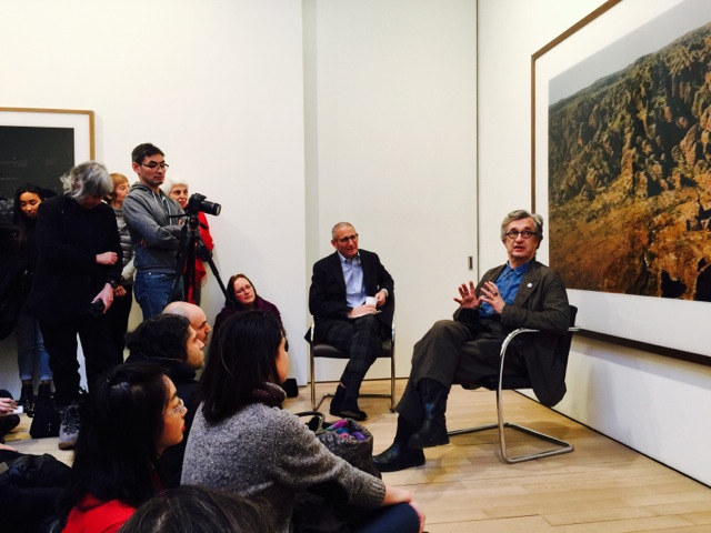 Artist Talk and Breakfast Viewing at the James Cohan Gallery in New York